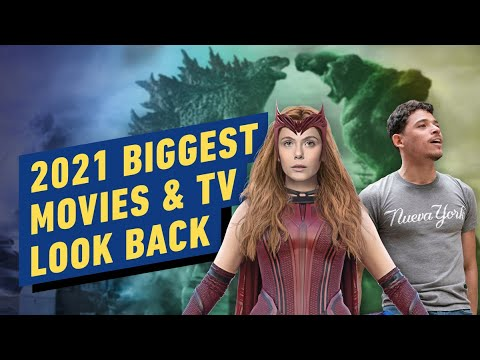 Look Back at the Biggest Movies and TV of 2021