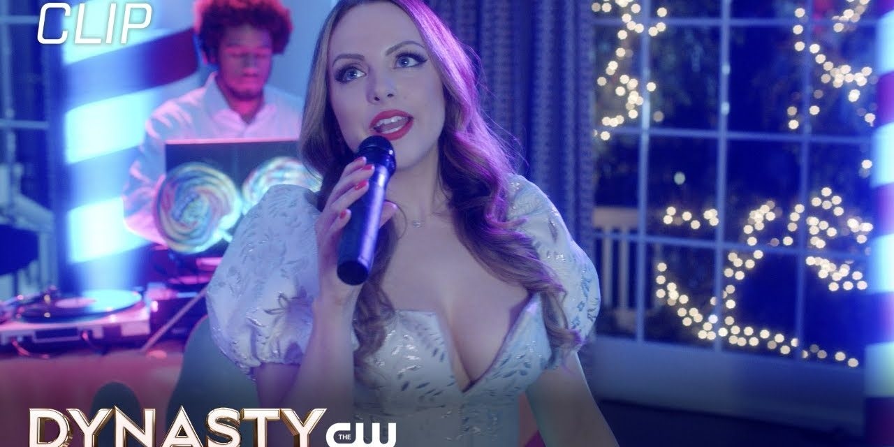 Dynasty   Season 4 Episode 11   Fallon Sings For Candy Scene   The CW