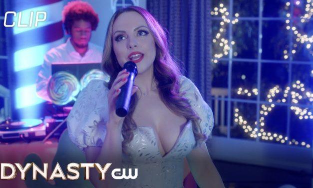 Dynasty | Season 4 Episode 11 | Fallon Sings For Candy Scene | The CW