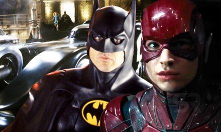 Flash Movie: Why Michael Keaton's Batman Still Has Burton's Batmobile