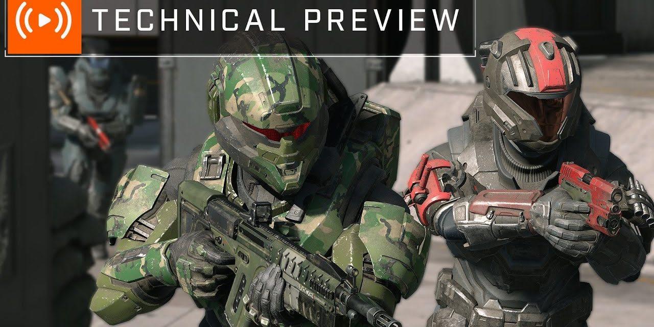 Halo Infinite 343 Tech Preview Livestream
