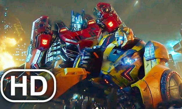 Transformers Megatron Kills Bumblebee Scene 4K ULTRA HD