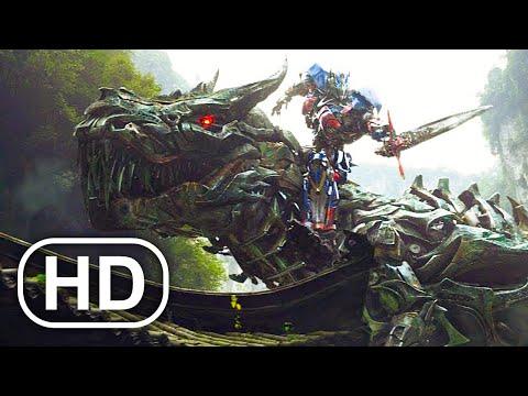 Transformers How Grimlock Got His Dinosaur Powers Scene 4K ULTRA HD