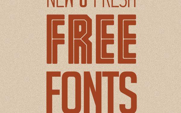 20 New Free Fonts