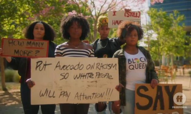 Freeform Sitcom Justifies Looting, Arson and Riots at BLM Protests: 'So Be It'