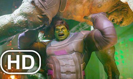 AVENGERS ENDGAME Hulk Lifts Up Abomination Scene 4K ULTRA HD
