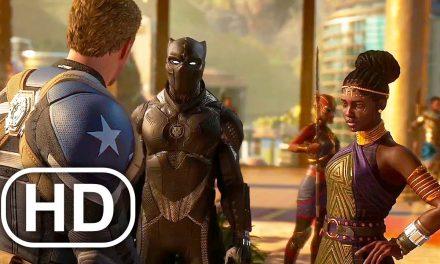 Black Panther Meets Avengers Scene 4K ULTRA HD – Marvel's Avengers