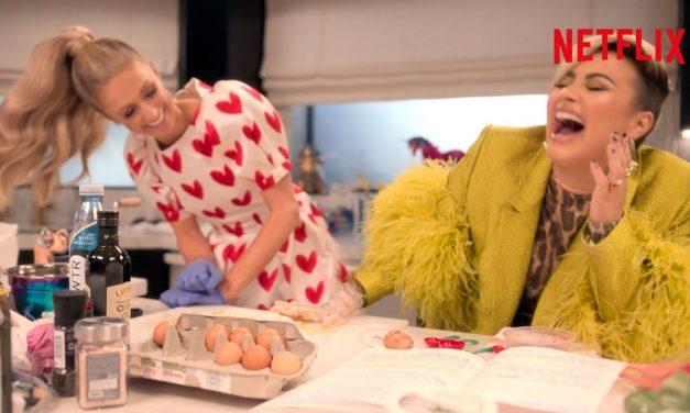 Demi Lovato and Paris Hilton Absolutely Destroy a Ravioli Recipe | Cooking With Paris | Netflix