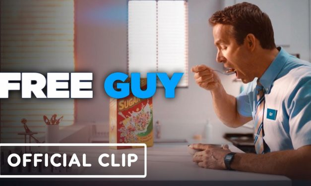 Free Guy – Official Morning Routine Official Clip (2021)  Ryan Reynold, Jodie Comer, Joe Keery