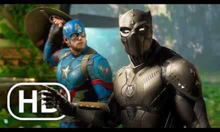 Marvel's Avengers Black Panther All Cutscenes Full Movie (2021) 4K ULTRA HD