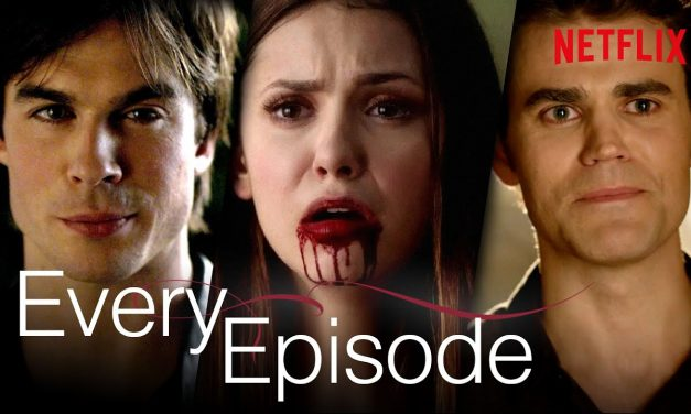 3 Seconds From Every Episode Of The Vampire Diaries   Netflix