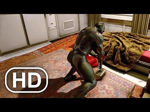 Black Panther Lifting Thor's Hammer Mjolnir Scene 4K ULTRA HD – Marvel's Avengers