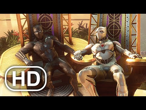 Black Panther Sits On His Throne Scene 4K ULTRA HD – Marvel's Avengers