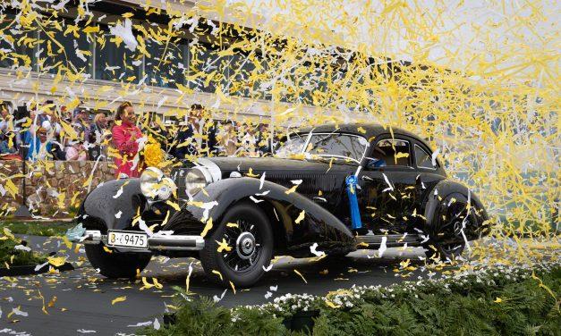 2021 Pebble Beach Concours D'Elegance: 1938 Mercedes-Benz 540K Autobahn Kurier Named Best of Show