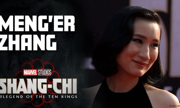 Meng'er Zhang's Marvel Muscles | Marvel Studios Shang-Chi Red Carpet LIVE