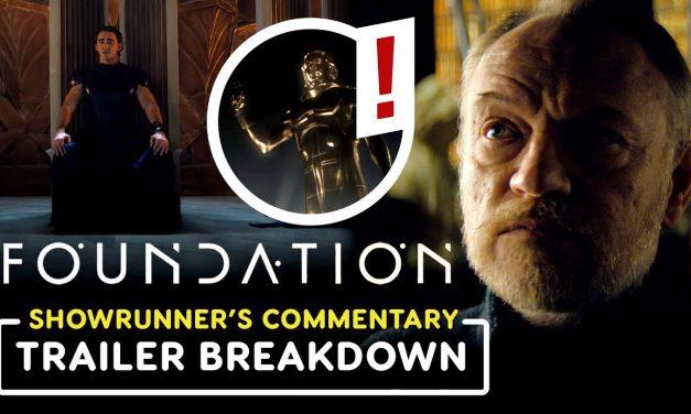 Foundation: Exclusive Trailer Breakdown with Showrunner David S. Goyer