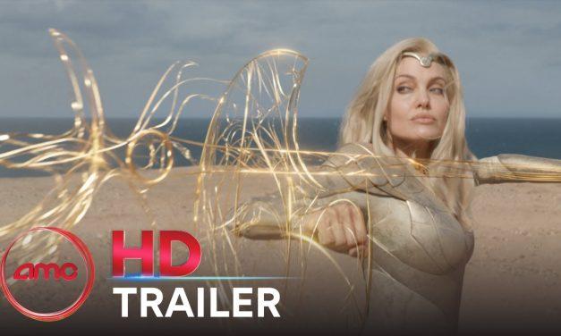 ETERNALS – Trailer (Gemma Chan, Richard Madden, Angelina Jolie, Salma Hayek)   AMC Theatres 2021