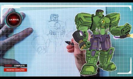 Marvel's Avengers: Mech Strike | How to Draw Hulk