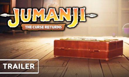 Jumanji: The Curse Returns – Teaser Trailer | gamescom 2021