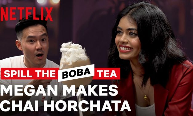 Megan Suri from Never Have I Ever is a Baller?? | Spill the Boba Tea | Netflix