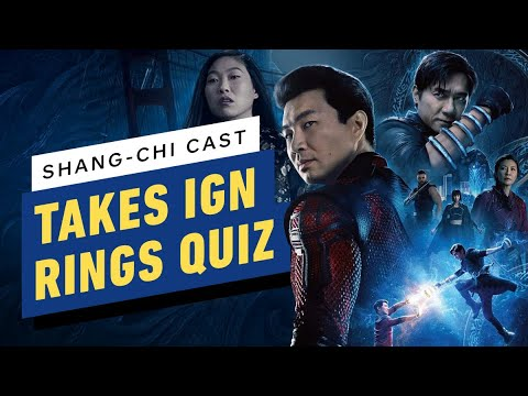 Shang-Chi Cast Take IGN's Rings Quiz