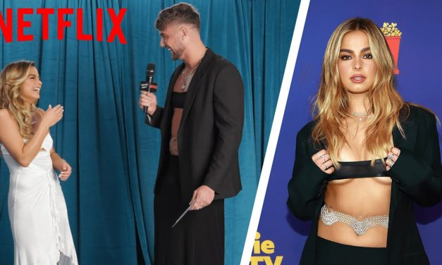 Harry Jowsey Interviews 'He's All That' Cast in Their Old Red Carpet Looks | Netflix