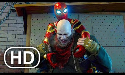 Tom Holland Spider-Man Vs Tombstone Fight Scene 4K ULTRA HD – Spider-Man No Way Home Suit