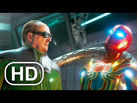 Tom Holland Spider-Man Vs Doctor Octopus Fight Scene 4K ULTRA HD – Spider-Man No Way Home Suit