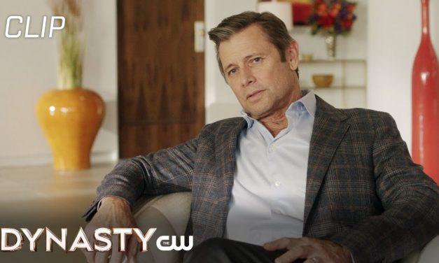Dynasty   Season 4 Episode 17   Blake Sees Alexis Scene   The CW