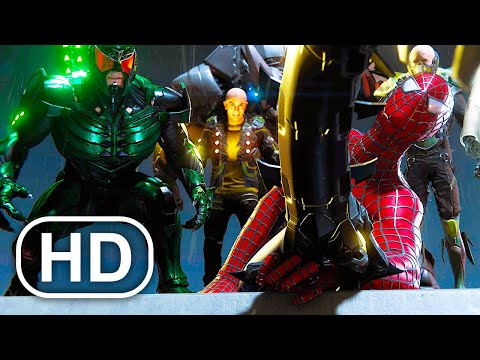 Tobey Maguire Spider-Man Vs Sinister Six Fight Scene 4K ULTRA HD – Spider-Man No Way Home Suit