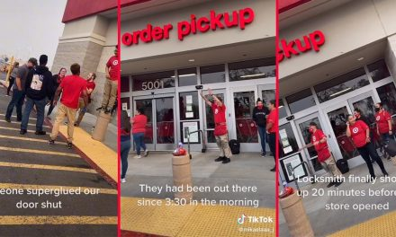 Target workers locked out of store after someone allegedly 'superglued' store doors shut, viral TikTok shows