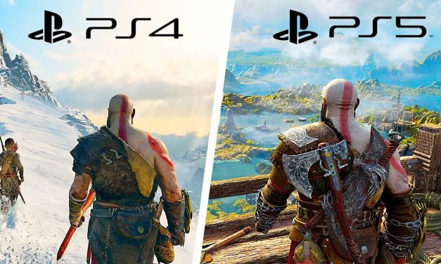 God Of War Ragnarok PS5 Vs God Of War PS4 Graphics Comparison Evolution