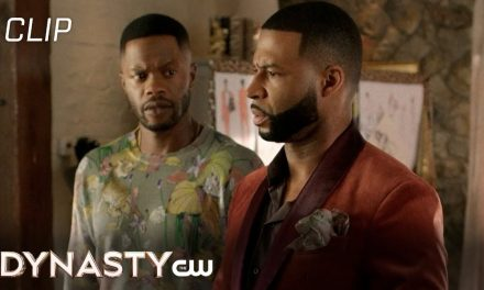 Dynasty   Season 4 Episode 18   Jeff And Culhane On Board Scene   The CW