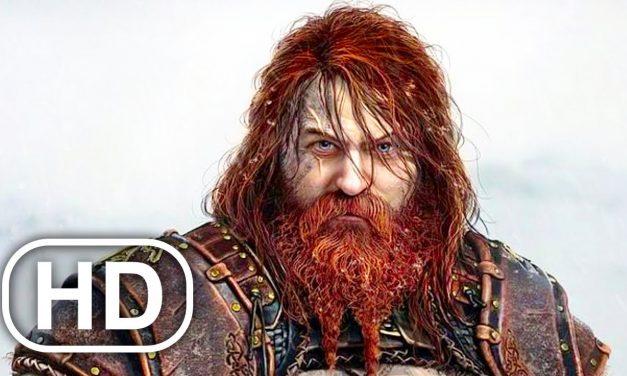 GOD OF WAR RAGNAROK Thor Face Reveal Comparison (PS5)