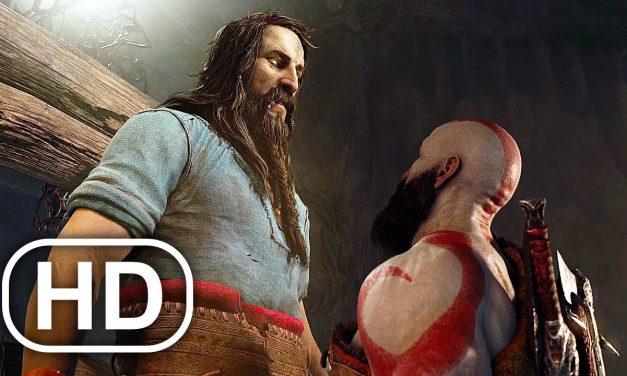 GOD OF WAR PS5 Kratos Vs All Norse Gods & All Gods Of Olympus 4K ULTRA HD