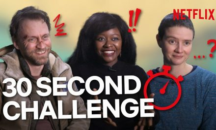 """""""Big Sh*t!"""" The Cast of Into The Night Try To Explain The Show In 30 Seconds   Netflix"""