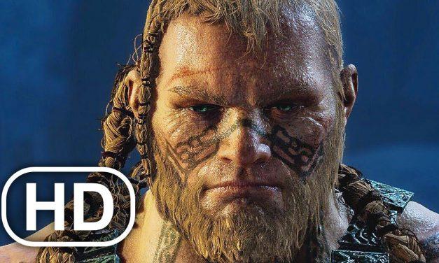 Kratos Vs Thor Son Fight Scene 4K ULTRA HD – GOD OF WAR PS5