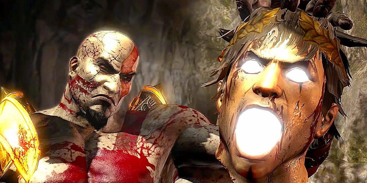 GOD OF WAR 3 PS5 Kratos Vs All Gods Of Olympus 4K ULTRA HD