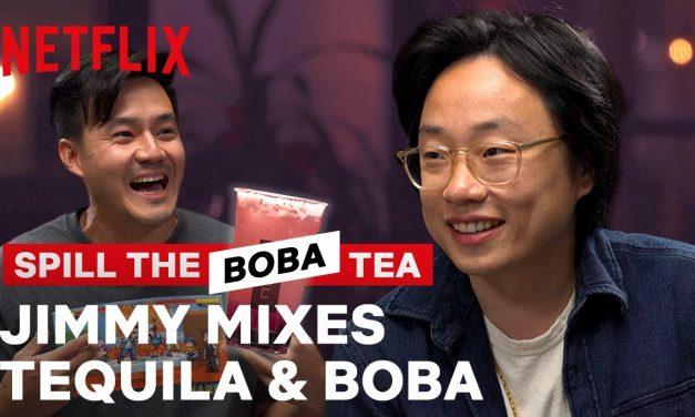 We Spiked Jimmy O. Yang's Boba! | Spill the Boba Tea | Netflix