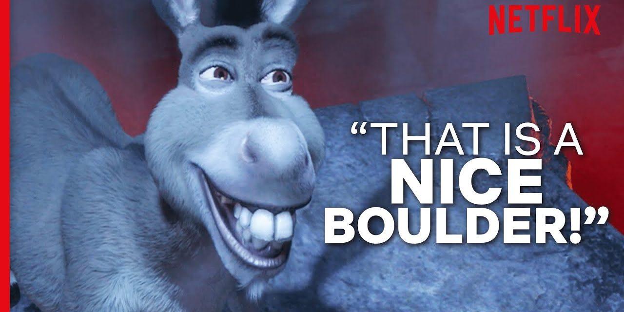 The Shrek Films But Donkey Won't Shut Up | Shrek | Netflix