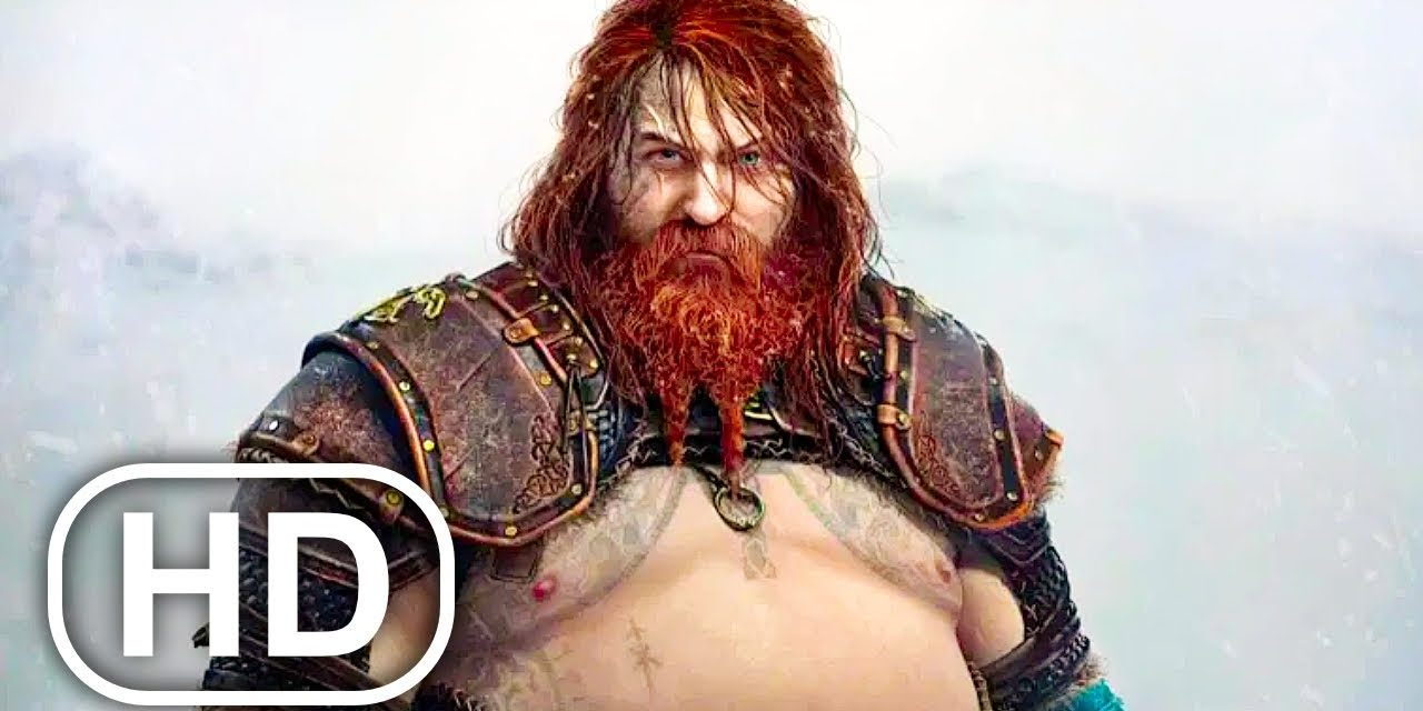 Kratos Makes Thor Kill His Son Almost Scene 4K ULTRA HD – GOD OF WAR PS5