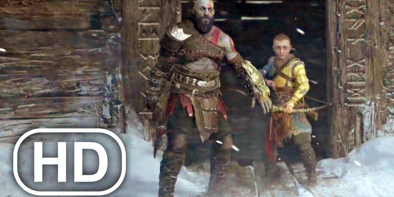 Kratos Kills Thor Brother Scene 4K ULTRA HD – GOD OF WAR PS5