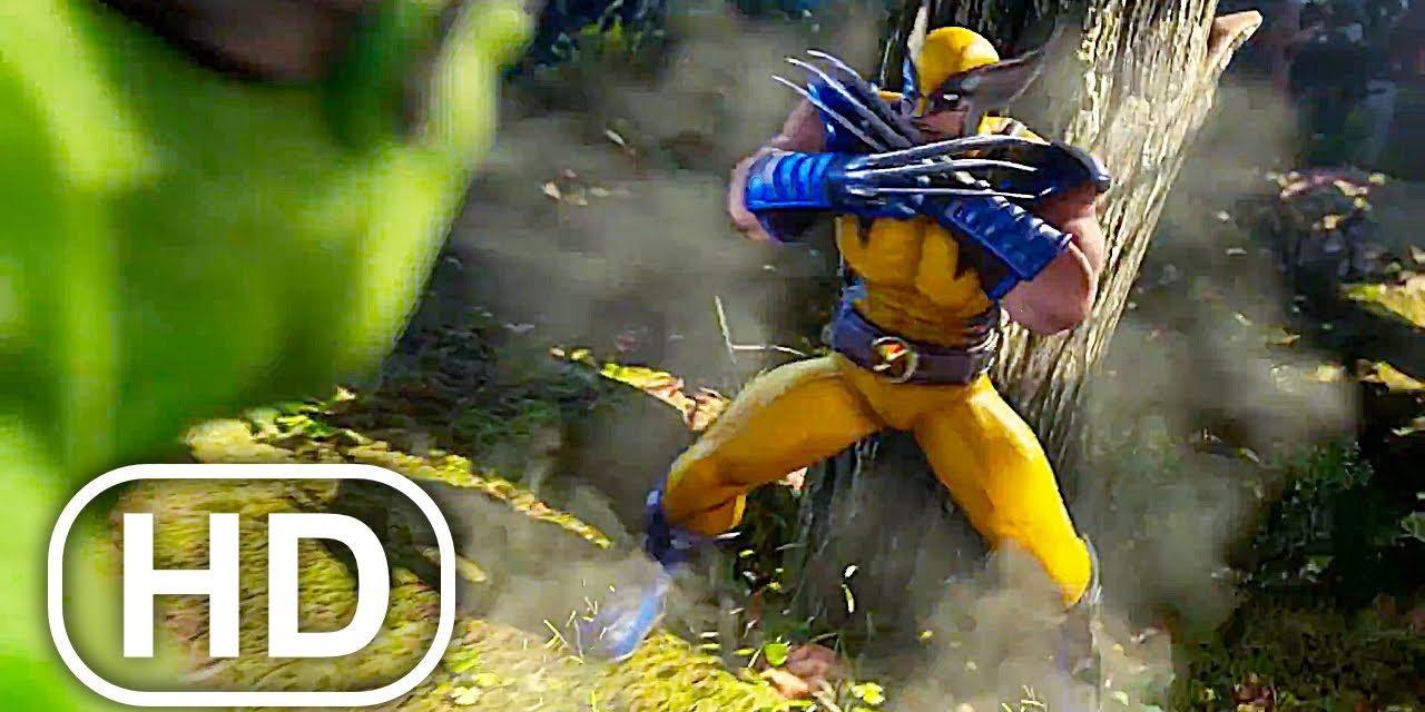 WOLVERINE Vs HULK Fight Scene 4K ULTRA HD – Marvel Superhero Cinematic