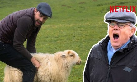 """""""Can You Just F**k Off?"""" Jack + Michael Whitehall's Sheep Herding FAIL   Travels With My Father"""