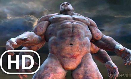 Kratos Vs Gods Vs Titans Fight Scene 4K ULTRA HD – GOD OF WAR PS5