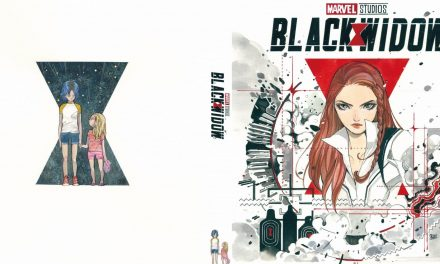 Marvel Comics Artists Create Printable Black Widow Blu-ray Covers