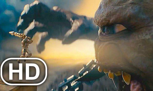 Giant Cyclops Monster Vs Spartan Army Fight Scene 4K ULTRA HD – GOD OF WAR PS5