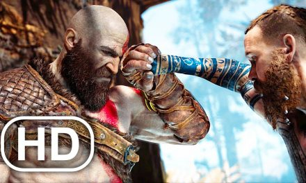 Never Say NO To Kratos Scene 4K ULTRA HD – GOD OF WAR PS5