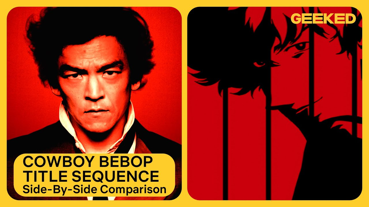 Cowboy Bebop Opening Credits | Anime Side-by-Side Comparison | Netflix Geeked