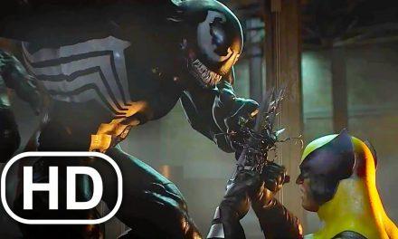 WOLVERINE Vs VENOM Fight Scene 4K ULTRA HD – Marvel Superhero Cinematic